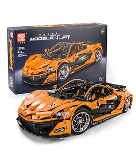 MOULD KING 13090 McLaren P1 Racing Car Building Blocks Toy Set