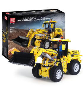 MOULD KING 13122 Volvo L350F Wheel Loader Bulldozer Building Blocks Toy Set