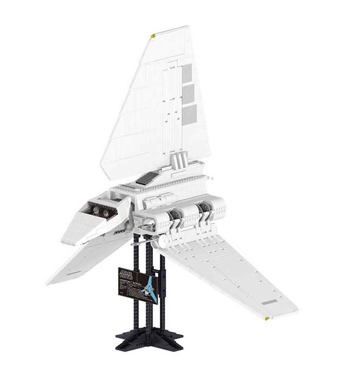 Custom Star Wars Imperial Shuttle Building Bricks Toy Set 2503 Pieces