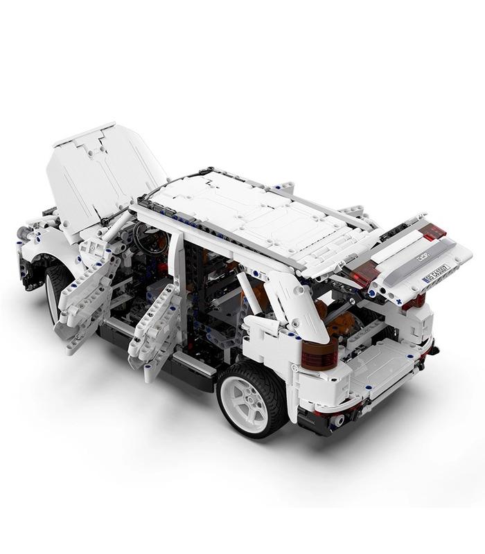 CaDA C61007W G5 SUV 4WD Off-Road Vehicle Remote Control Building Blocks Toy Set