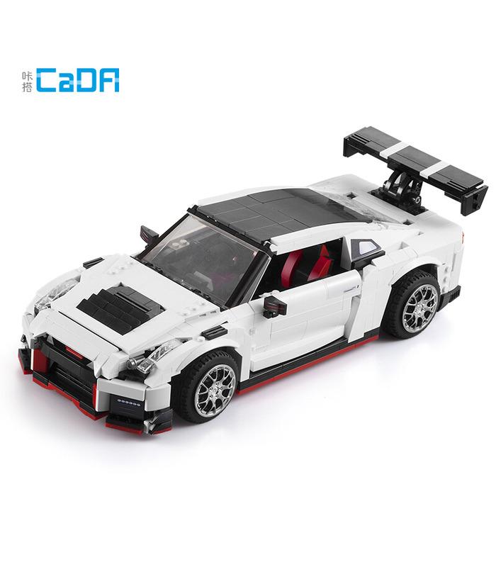 Double Eagle CaDA C61020 GTR R35 Racing Car Building Blocks Toy Set