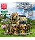 MOULD KING 16019 16019 Botanical Garden Nova Town Building Blocks Toy Set
