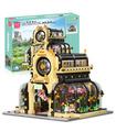 MOULD KING 16019 Botanical Garden Nova Town Building Blocks Toy Set
