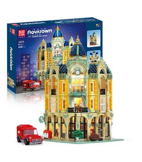 MOLD KING 16010 Ecke Post Building Blocks Toy Set