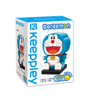 Keeppley Doraemon A0110 Classic QMAN Building Blocks Toy Set