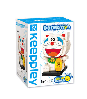 Keeppley Doraemon A0111 Lucky QMAN Building Blocks Toy Set