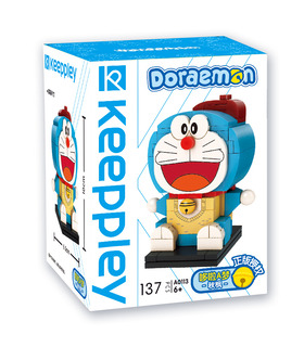 Keeppley Doraemon A0113 Autumn Maple QMAN Building Blocks Toy Set