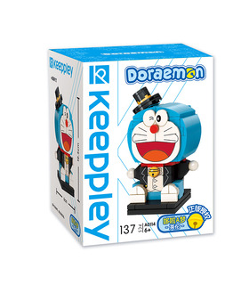 Keeppley Doraemon A0114 England QMAN Building Blocks Toy Set