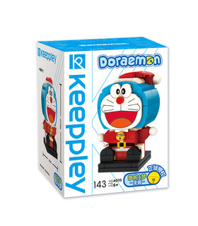 Keeppley Doraemon A0115 Christmas QMAN Building Blocks Toy Set