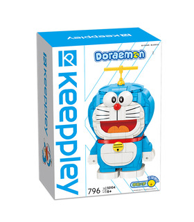 Keeppley Doraemon S0104 QMAN Building Blocks Toy Set