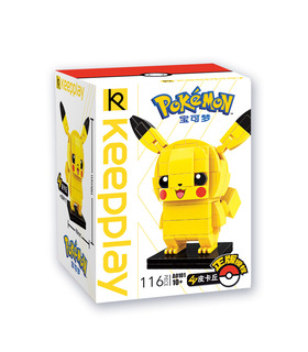Keeppley Pokemon A0101 Pikachu Qman Building Blocks Toy Set