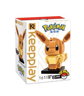Keeppley Ppokemon A0102 EeVee Qman Bausteine Spielzeugset