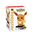 Keeppley Pokemon A0102 EeVee Qman Building Blocks Toy Set