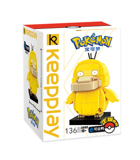 Keeppley Ppokemon A0103 Psyduck Qman Building Blocks Toy Set