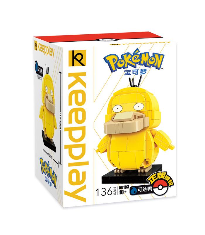 Keeppley Ppokemon A0103 Psyduck Qman Building Blocks Toy Set
