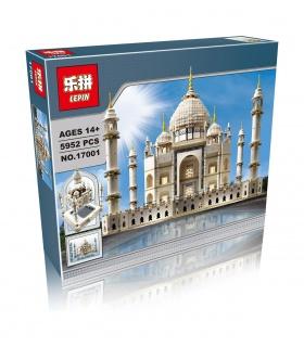 LEPIN 17001 Taj Mahal Edificio de Ladrillos Conjunto