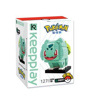 Keeppley Pokemon A0104 Bulbasaur Qman Blocs De Construction Jouets Jeu