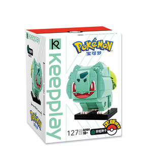Keeppley Pokemon A0104 Bulbasaur Qman Building Blocks Toy Set