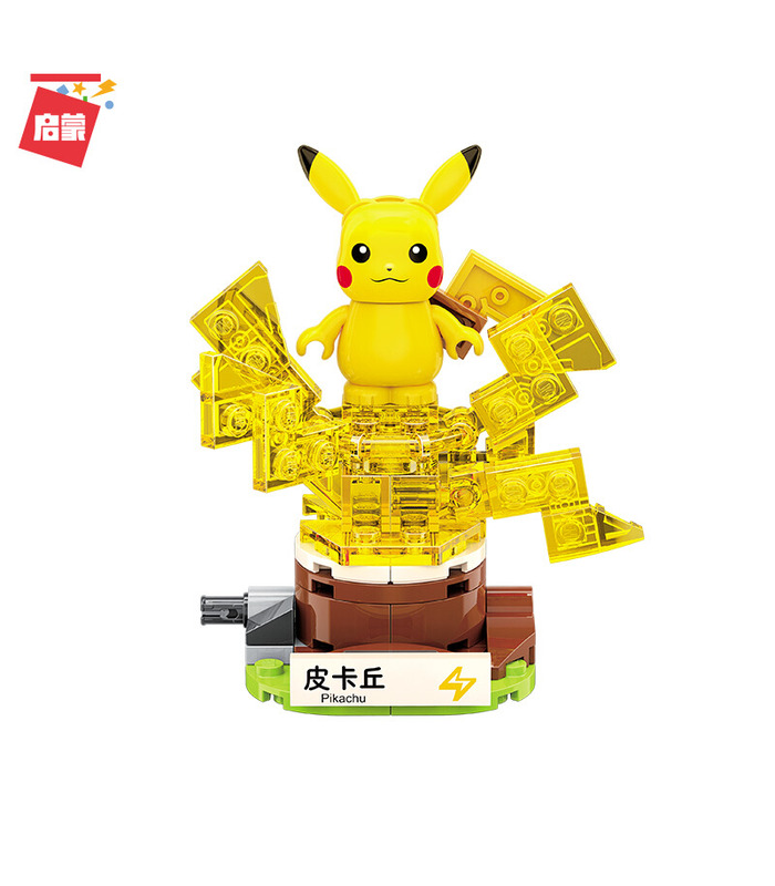 Keeppley Pokemon B0101 Pikachu Qman Building Blocks Toy Set