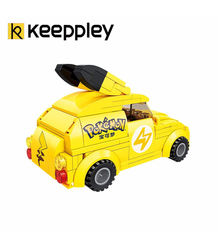 Keeppley Pokemon K20205 Pikachu Minicar Qman Building Blocks Toy Set