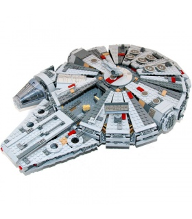 Custom Star Wars Millennium Falcon Building Bricks Toy Set 1381 Pieces
