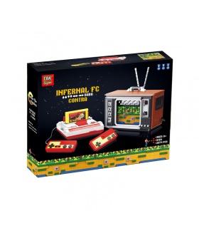 Super 18k K129 Contra de TV Juego de Consola de los Ladrillos del Edificio Conjunto de