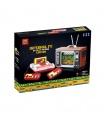 スーパー18k K129に堅調にテレビゲームコンソールビルレンガ玩具セット