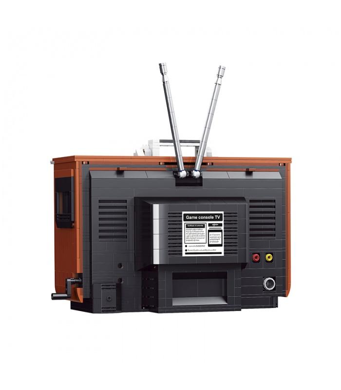 Super 18k K129 Contra TV Game Console Building Bricks Toy Set
