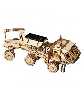 ROKR 3D Puzzle Discovery Rover Wooden Building Toy Kit