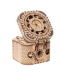 ROKR 3D Puzzle Treasure Box Wooden Building Toy Kit