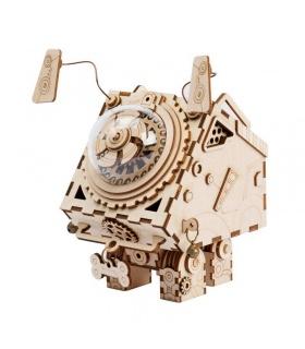 ROKR 3D Puzzle Spieluhr Holzbau Spielzeugset