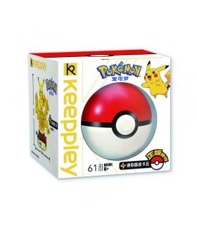Keeppley Pokemon B0101 Pikachu Qman Blocs De Construction Jouets Jeu