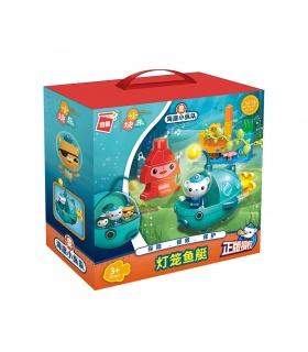 ENLIGHTEN 5215 Octonauts Barnacles Lantern Fish Boat Building Blocks Toy Set