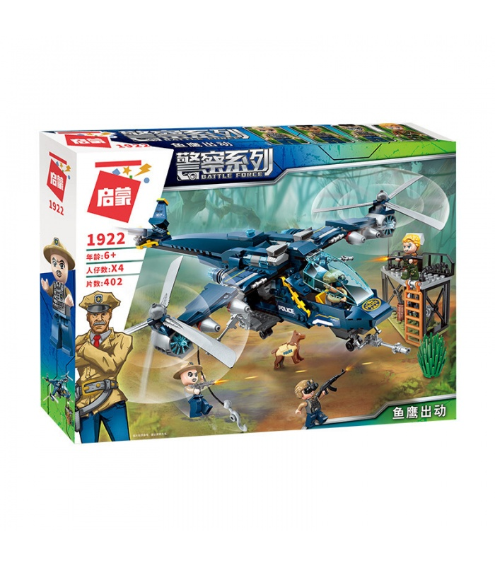 ENLIGHTEN 1922 Osprey On Duty Building Blocks Toy Set