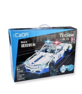 Двойной Орел Када C51006 Форд Полицейский Автомобиль Строительные Блоки Комплект Игрушки