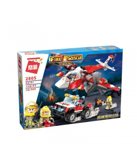 ENLIGHTEN 2805 Forest Range Building Blocks Toy Set