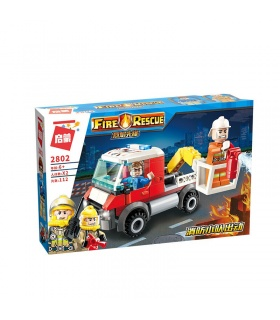 ENLIGHTEN 2802 Light Attack Vehicle Building Blocks Toy Set