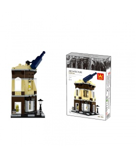WANGE Street View Corner Bar 2313 Building Blocks Toy Set