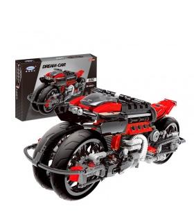 XINGBAO 03021 Motorcycle Building Bricks Toy Set