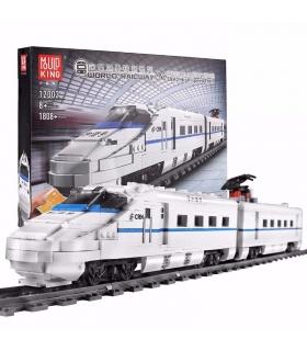 MOLD KING 12002 CRH2 Hochgeschwindigkeitszug Fernbedienung Bausteine Spielzeugset