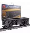 MOULD KING 12003CX QJ Steam Carriage Building Blocks Toy Set