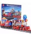 MOULD KING 12004 MKingLand Dream Train Remote Control Building Blocks Toy Set