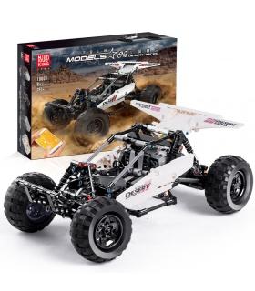 MOLD KING 18001 RC Buggy Wüstenrennen Fernbedienung Bausteine Spielzeugset