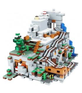 Benutzerdefinierte Minecraft The Mountain Cave kompatible Bausteine Spielzeug Set 2932 Stück