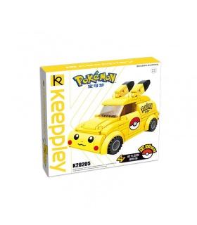 Keeppley Pokemon K20205 Pikachu Minicar Qman Blocs De Construction Jouets Jeu