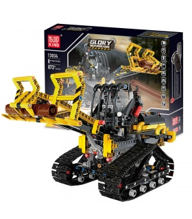 MOULD KING 13034 Tracked Loader Building Blocks Toy Set