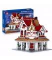 MOULD KING 11003 Paradise Corner Restaurant Mkingland Building Blocks Toy Set