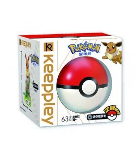 Keepplay Pokemon B0102 EeVee Qman Blocs De Construction Jouets Jeu