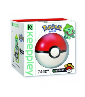 Keeppley Ppokemon B0104 Bulbasaur Qman Building Blocks Toy Set