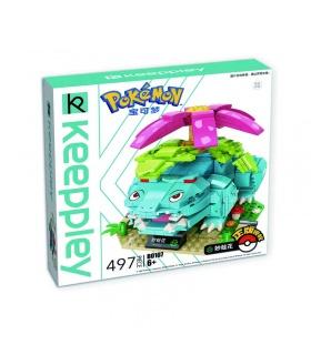 Keeppley Pokemon B0107 Venusaur Qman Building Blocks Toy Set